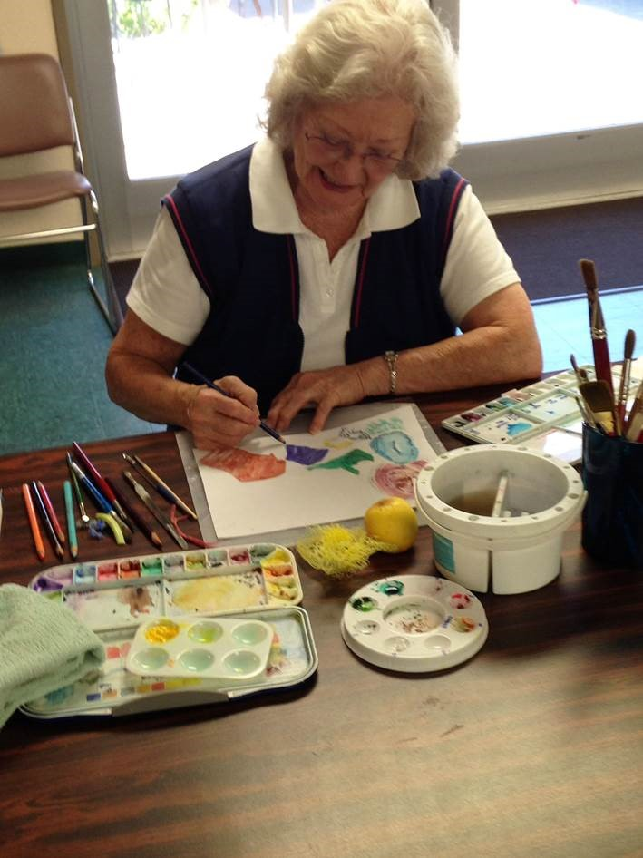 Water color lessons